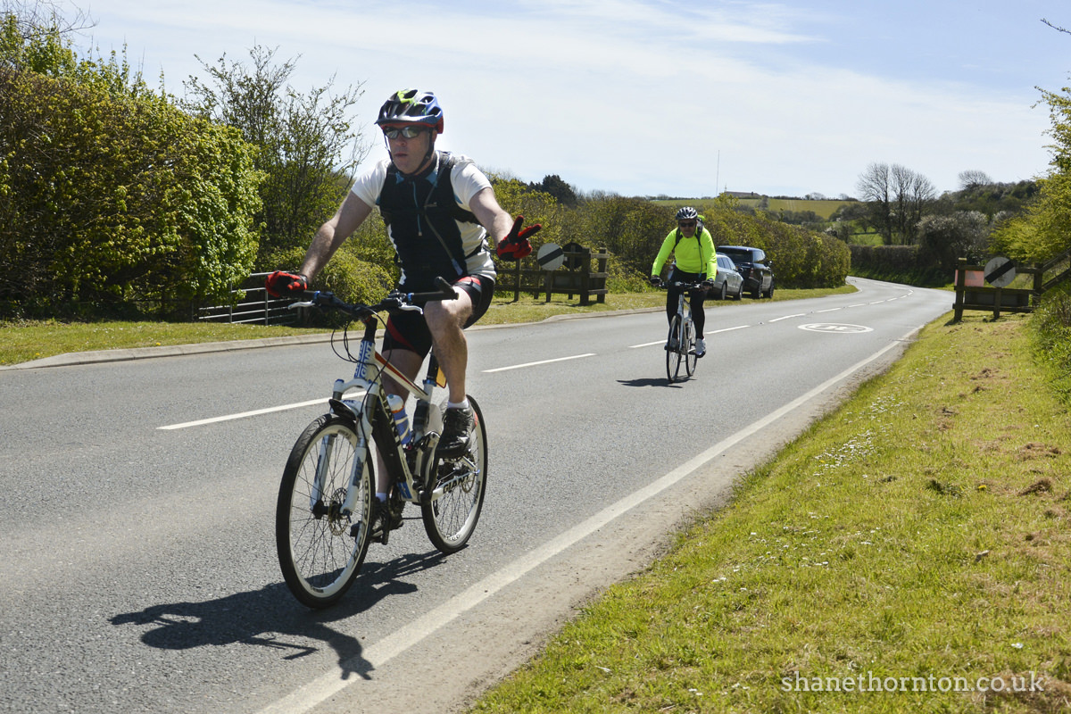 20160501 STP_6875 Isle of Wight Randonnee 2016 Whitwell Checkpoint