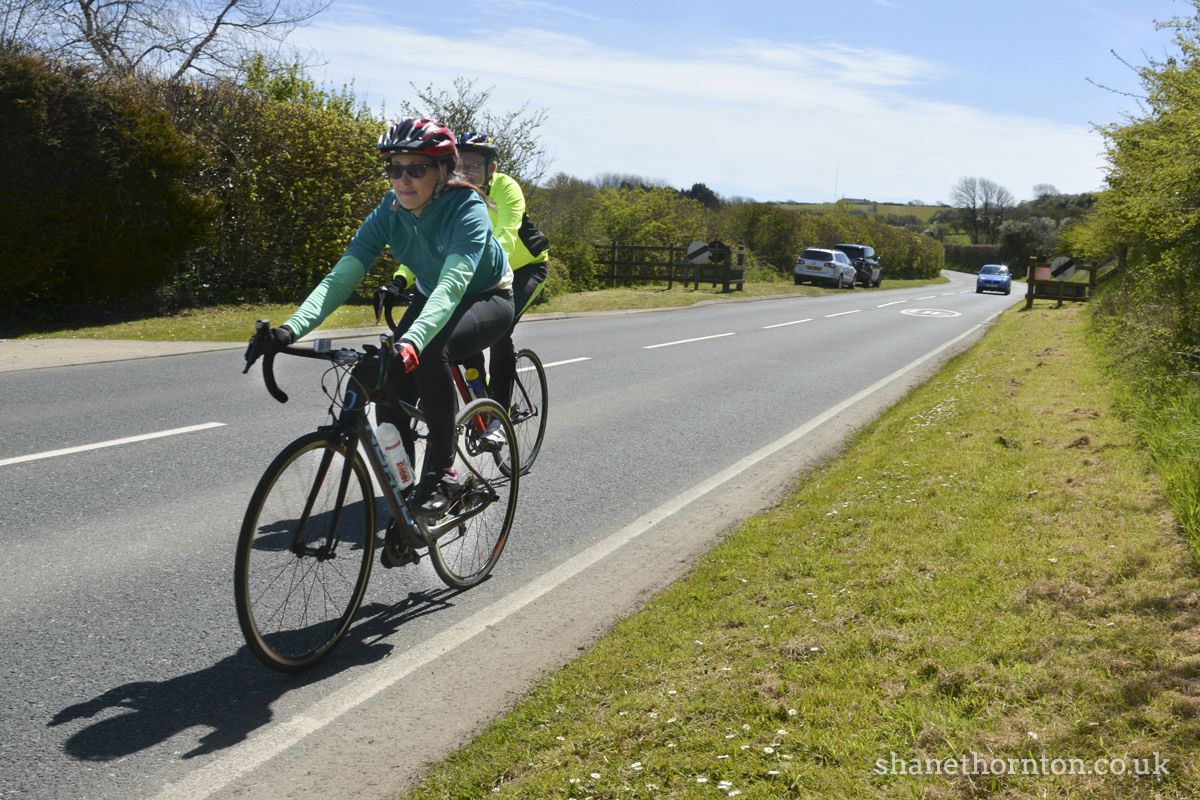 20160501 STP_6891 Isle of Wight Randonnee 2016 Whitwell Checkpoint