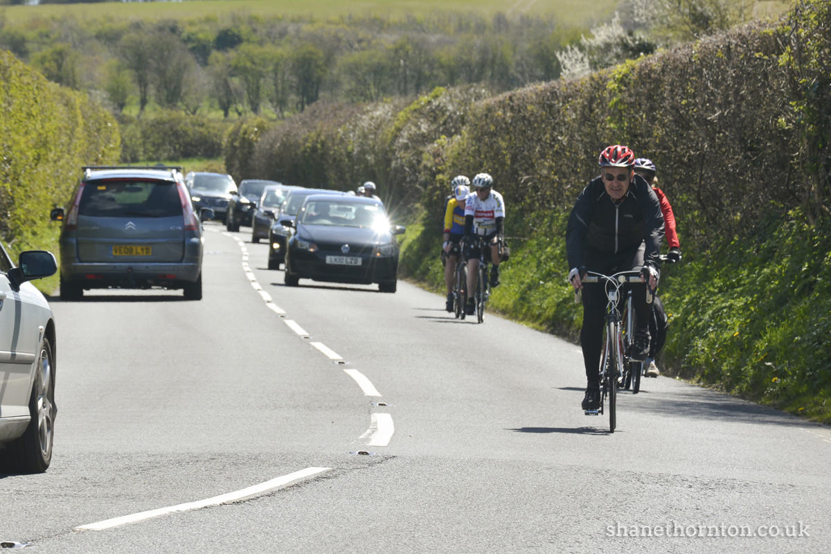 20160501 STP_6907 Isle of Wight Randonnee 2016 Whitwell Checkpoint