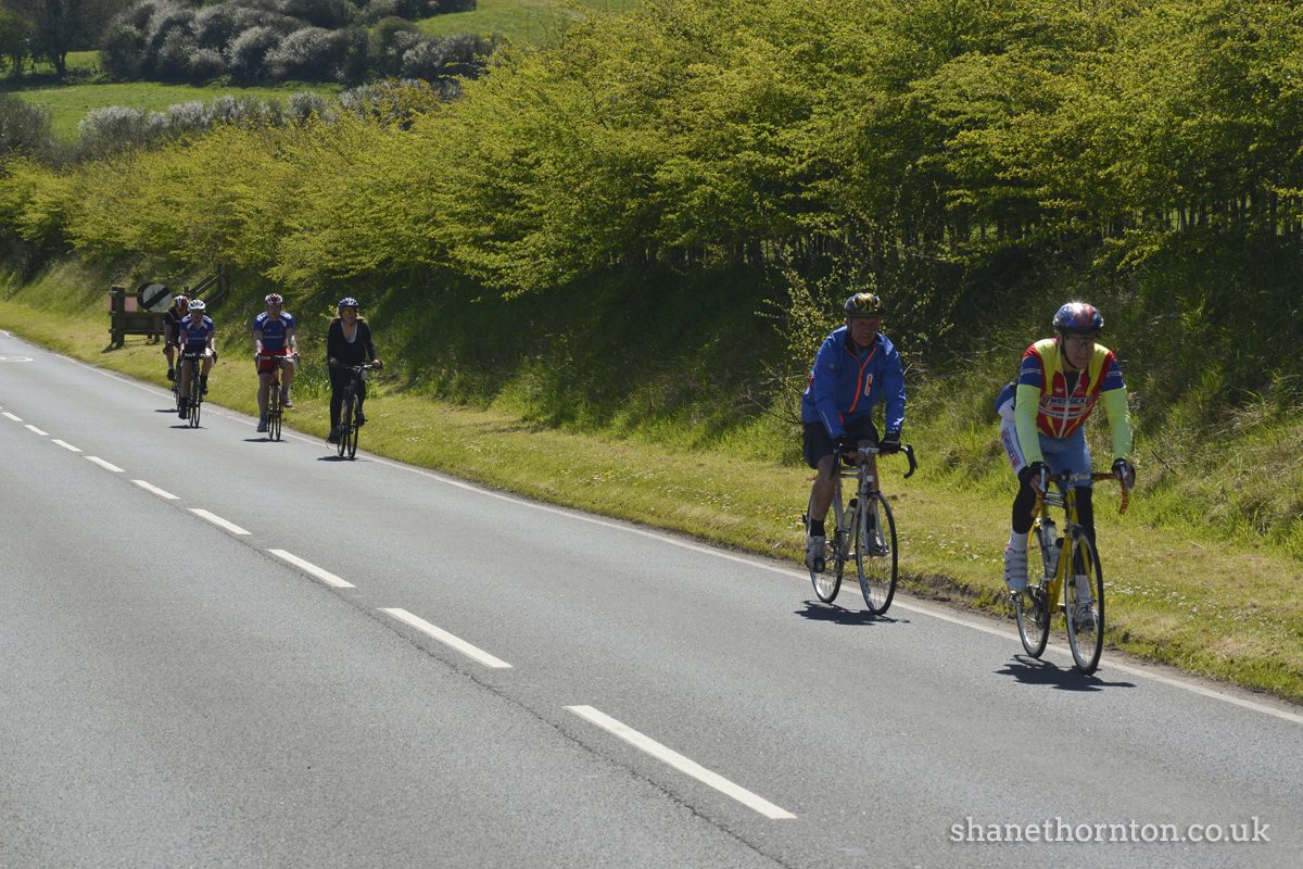 20160501 STP_6928 Isle of Wight Randonnee 2016 Whitwell Checkpoint