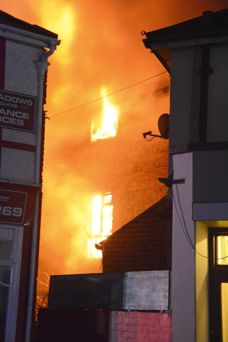 20160313 STP_5931 Palmerston Road Shanklin Building Fire