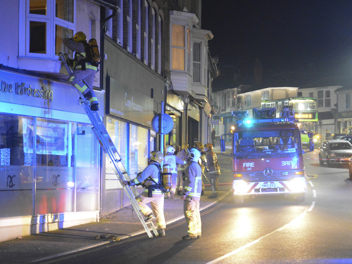 20160313 STP_5961 Palmerston Road Shanklin Building Fire