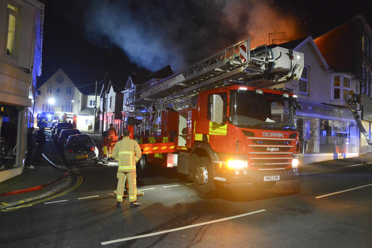 20160313 STP_5965 Palmerston Road Shanklin Building Fire