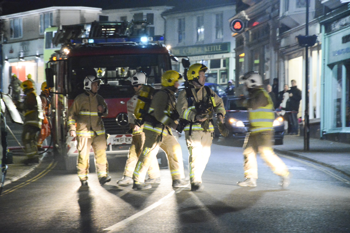 20160313 STP_5970 Palmerston Road Shanklin Building Fire