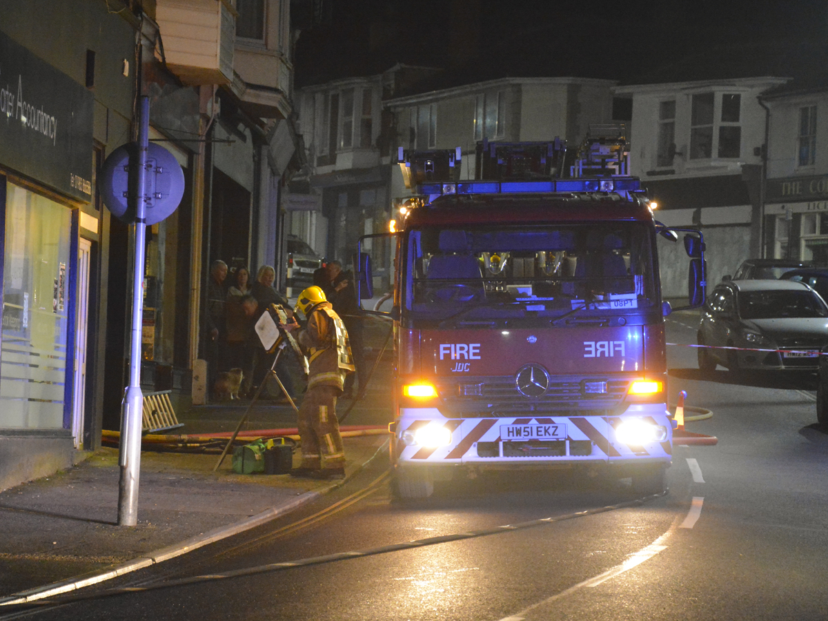 20160313 STP_6033 Palmerston Road Shanklin Building Fire