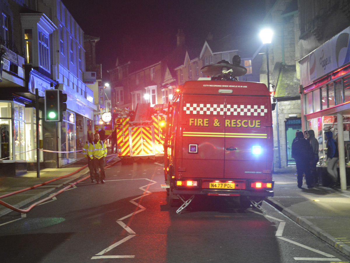 20160313 STP_6059 Palmerston Road Shanklin Building Fire