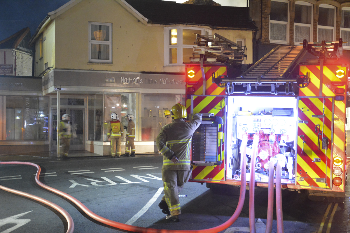 20160313 STP_6151 Palmerston Road Shanklin Building Fire