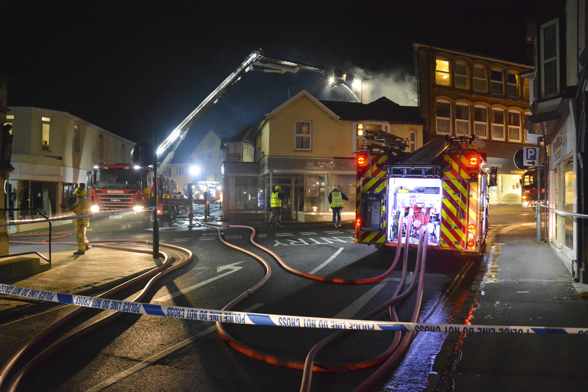 20160313 STP_6174 Palmerston Road Shanklin Building Fire