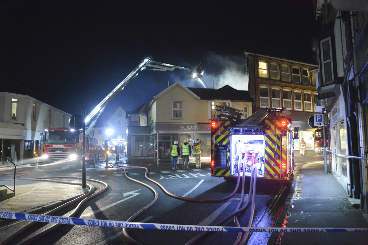 20160313 STP_6183 Palmerston Road Shanklin Building Fire