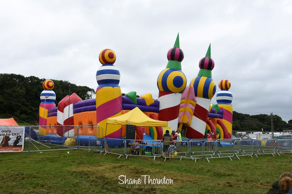 Worlds Biggest Bouncy Castle - Bestival 2016