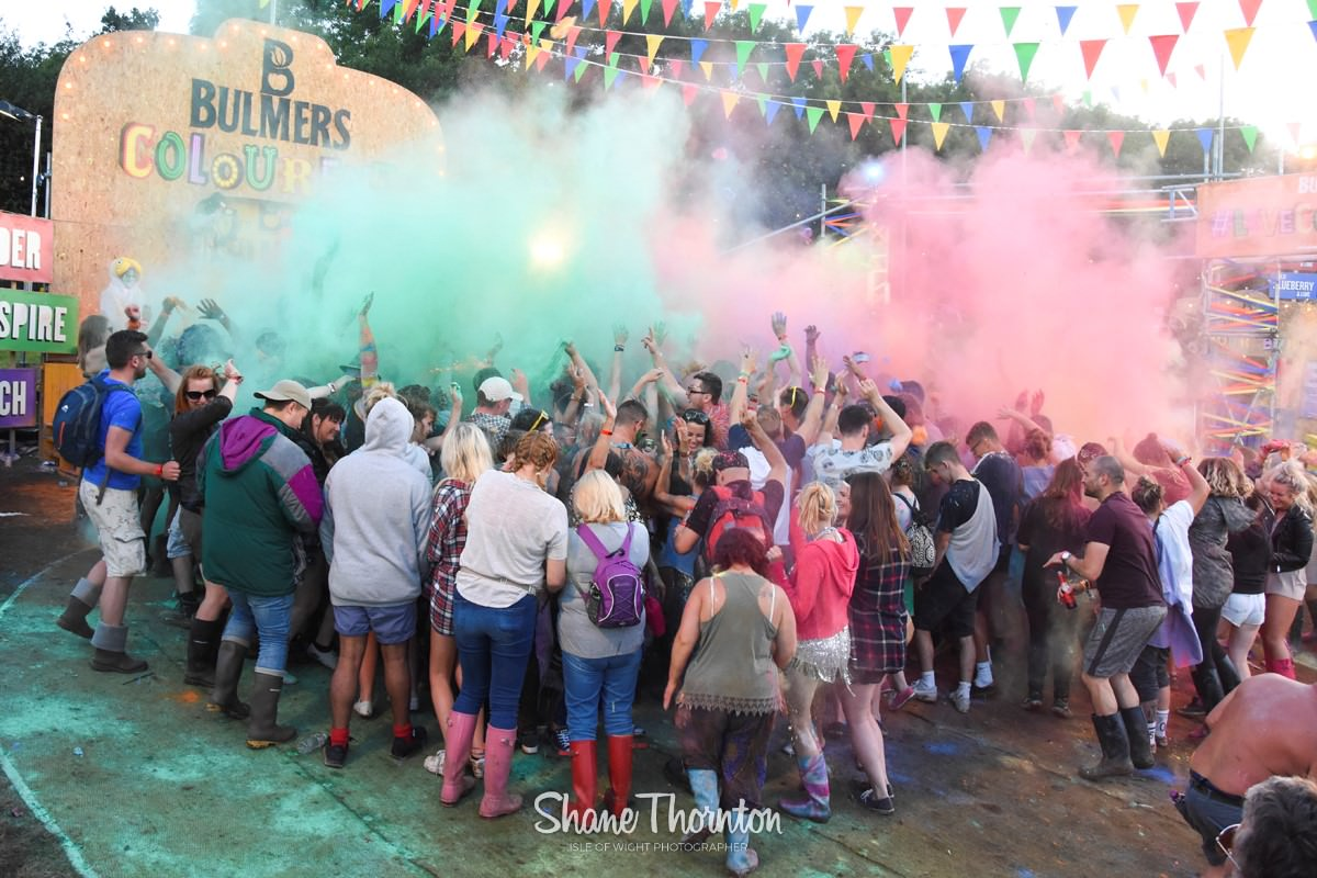 Bulmers Colour Arena - Bestival 2016