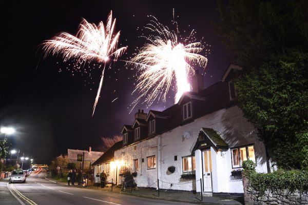 The White Horse Inn brought colour to Whitwell Village