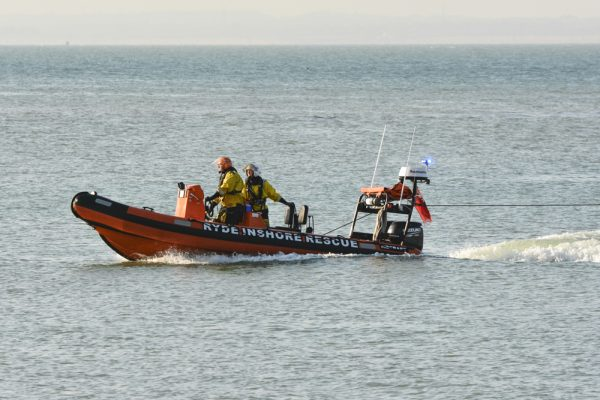 Ryde Inshore Rescue Rescues a Small Boat